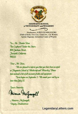 About us hogwarts letter hogwarts and harry potter about us yadclub Image collections