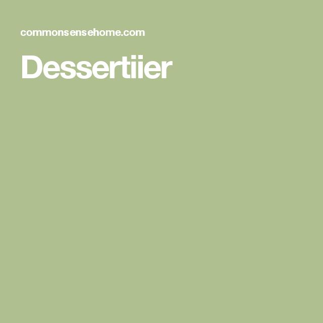Dessertiier