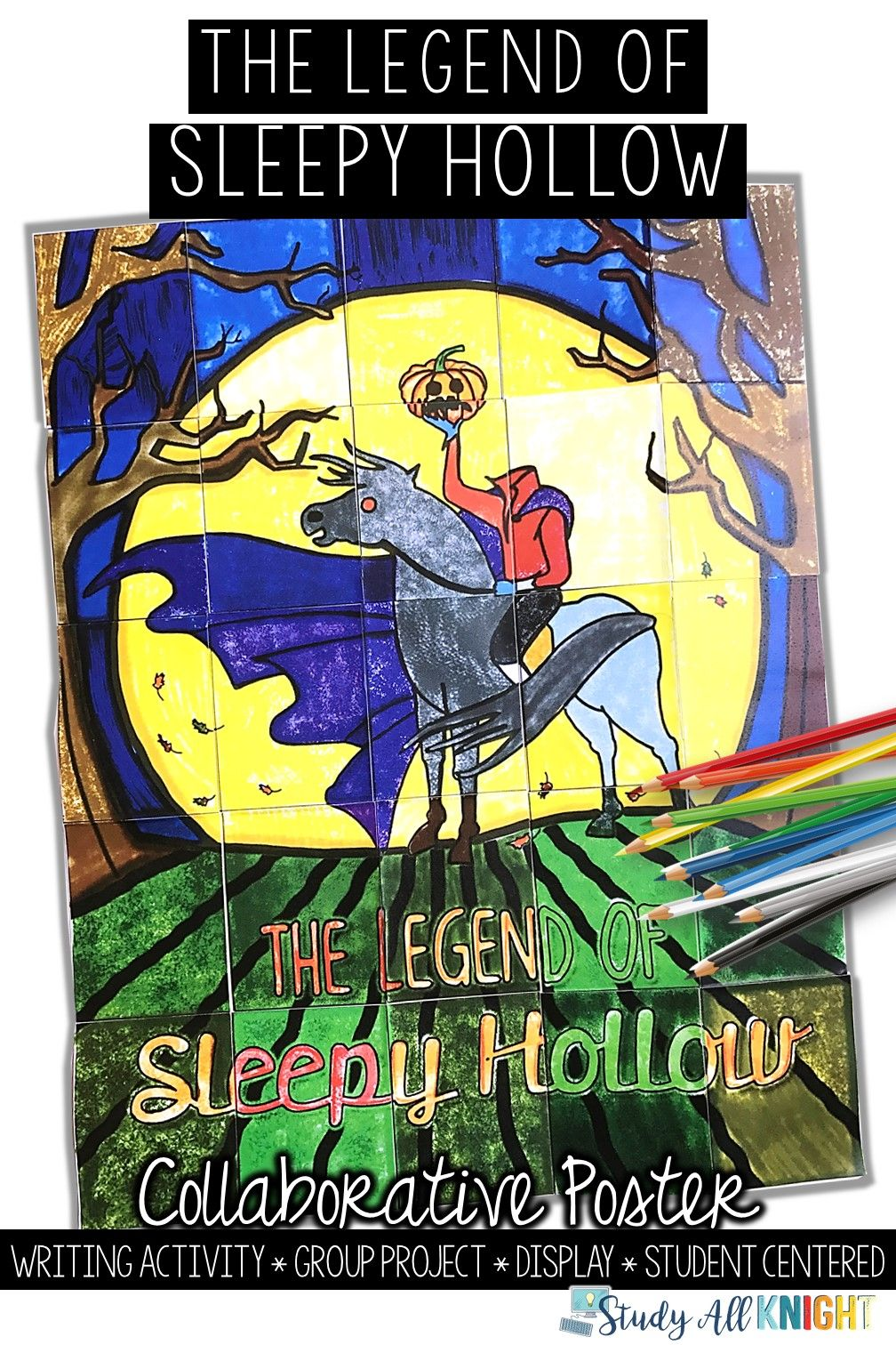 The Legend of Sleepy Hollow, Collaborative Poster
