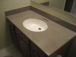 When Painting Cultured Marble You Can Paint The Sink A Diffe Color For More Updated Look Who Knew