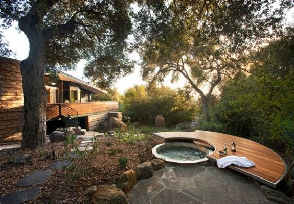 47 Irresistible Hot Tub Spa Designs For Your Backyard Met