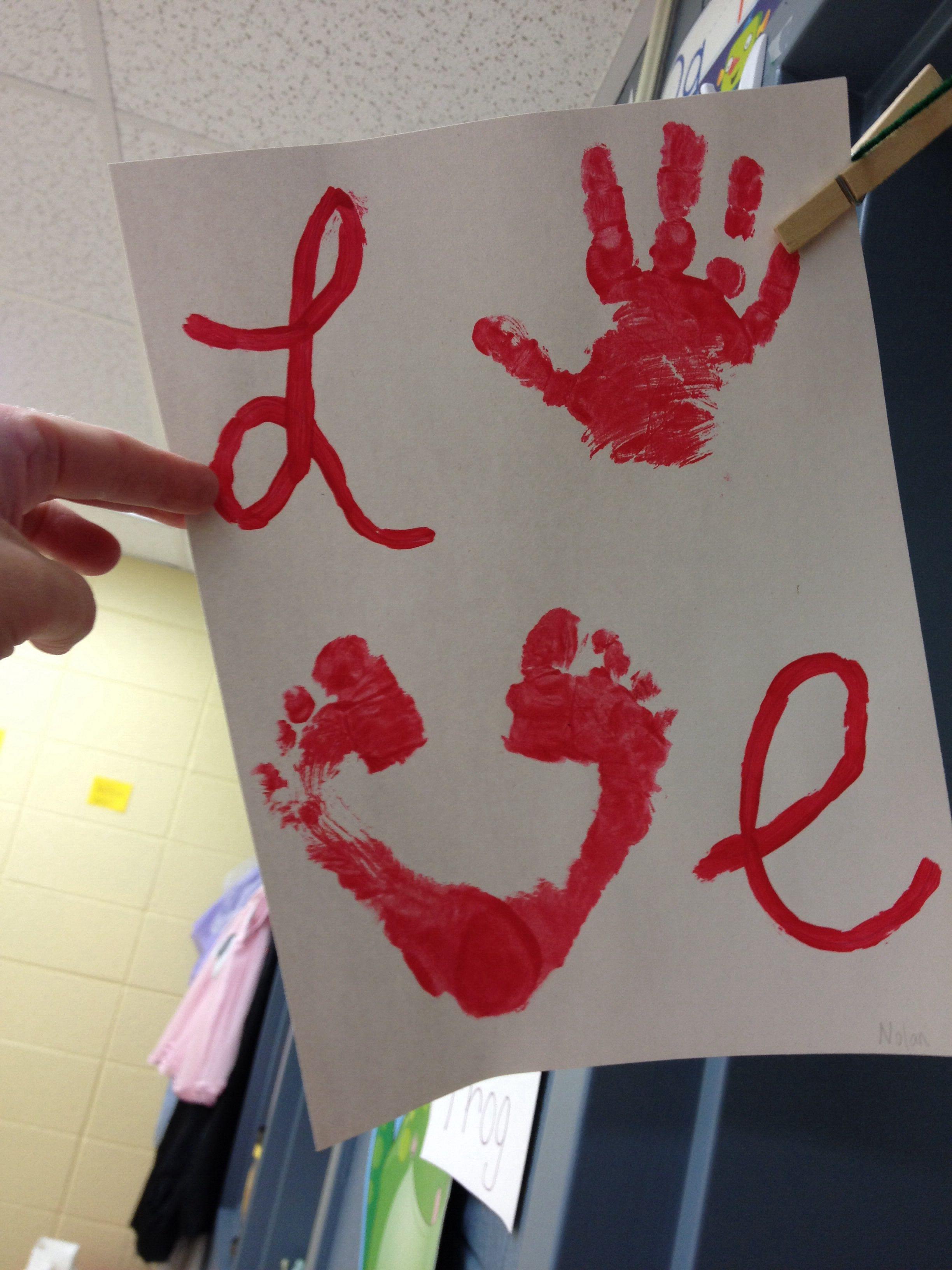 Love Hands Feet