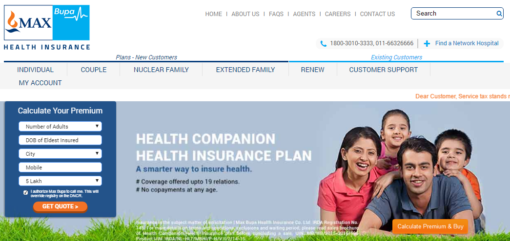 Max Bupa Health Insurance Policy Details, Plans