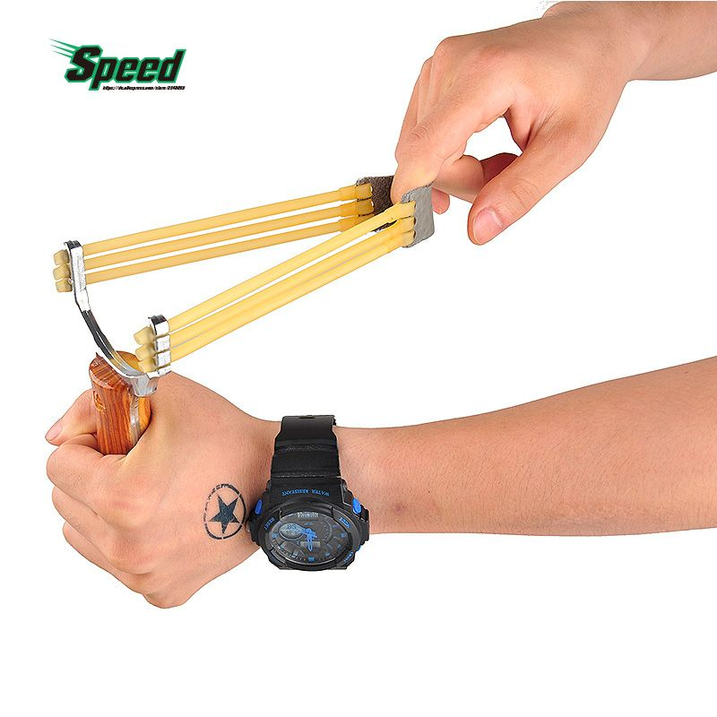 2017 New Arrival Sling shot competition Supplies Alloy recurve Camouflage Wooden Outdoor hunting Slingshots Entertainment