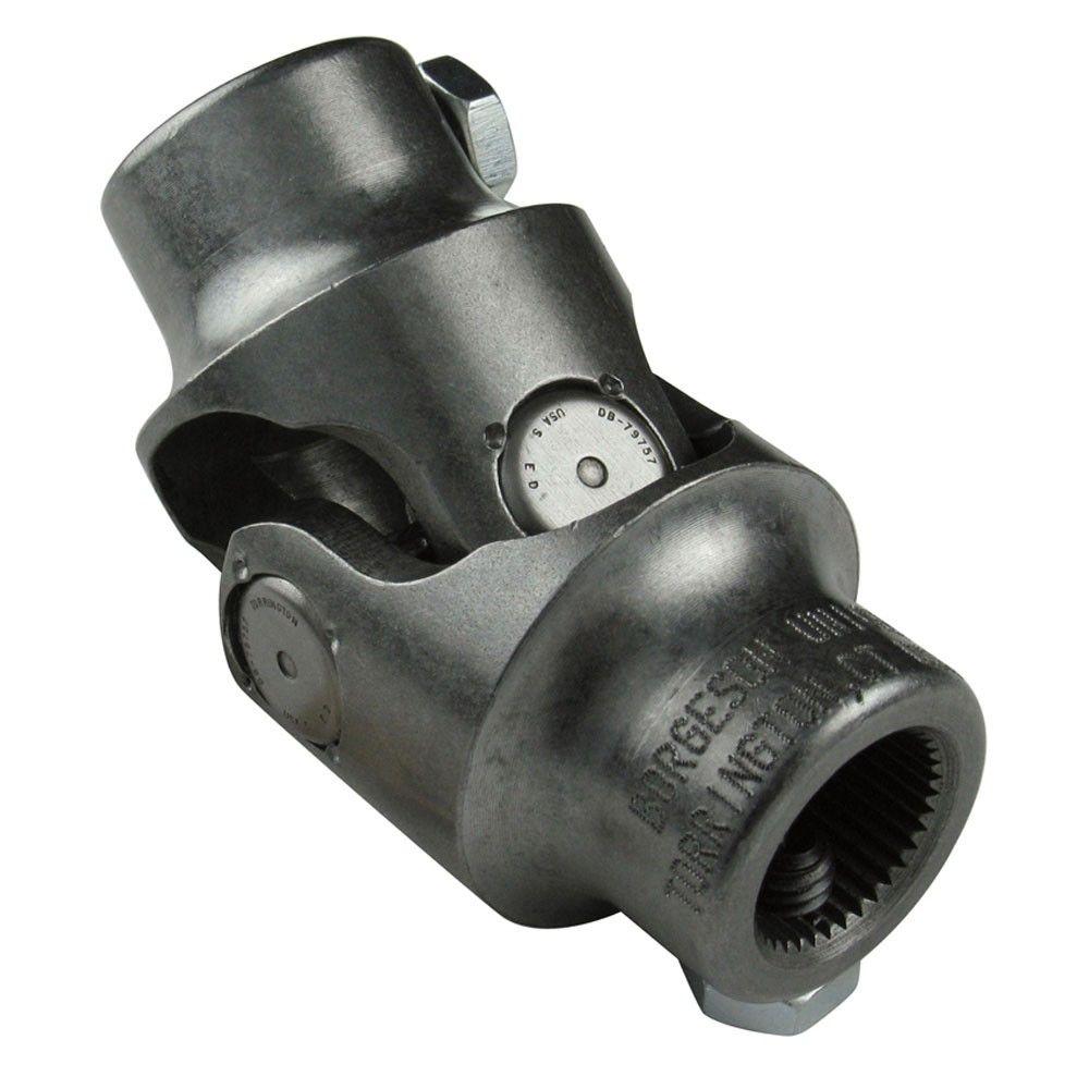 "1/"" DD X 3//4/"" DD Black Single Universal Steering Shaft U Joint Coupler Double D"