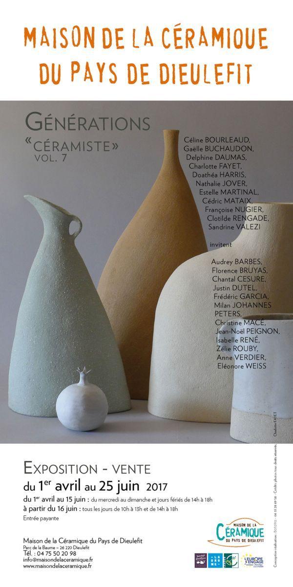 Exposition à la Maison de la céramique du Pays de Dieulefit jusqu\u0027au