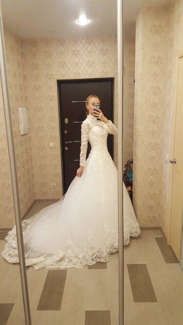 Prinzessin Lace muslimischen Hochzeitskleid
