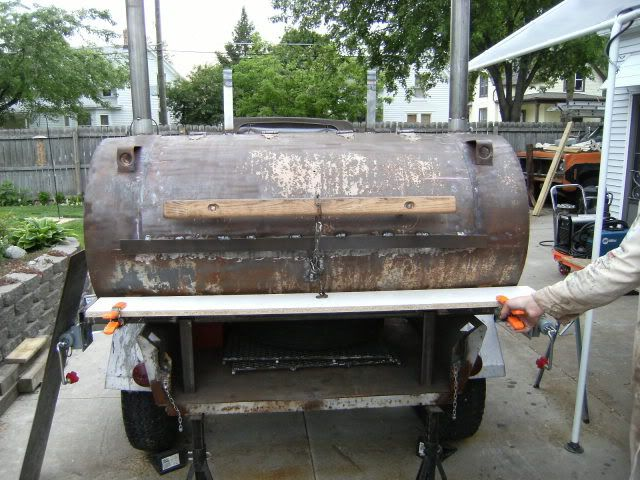 275 Gal Oil Tank Bbq Build The Bbq Brethren Forums