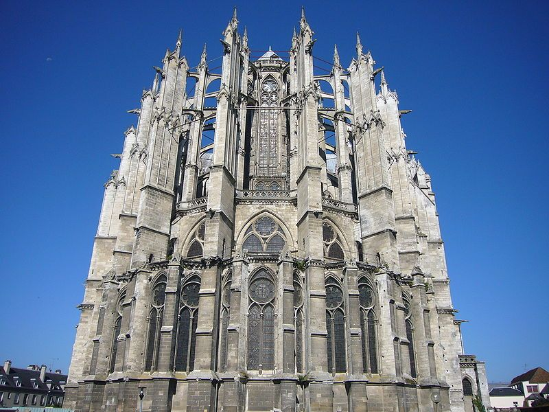 Falling Buttresses Beauvais Cathedral And The Limits Of Gothic Architecture