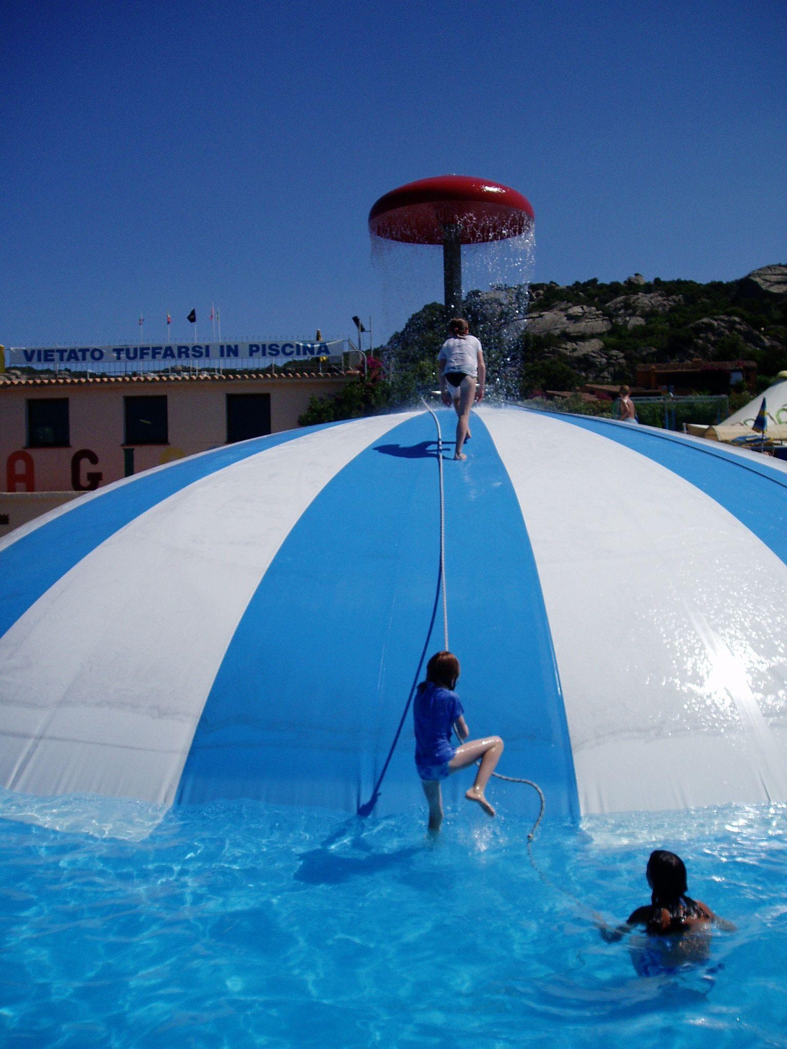 Water Park In Baia Sardinia Sardinie