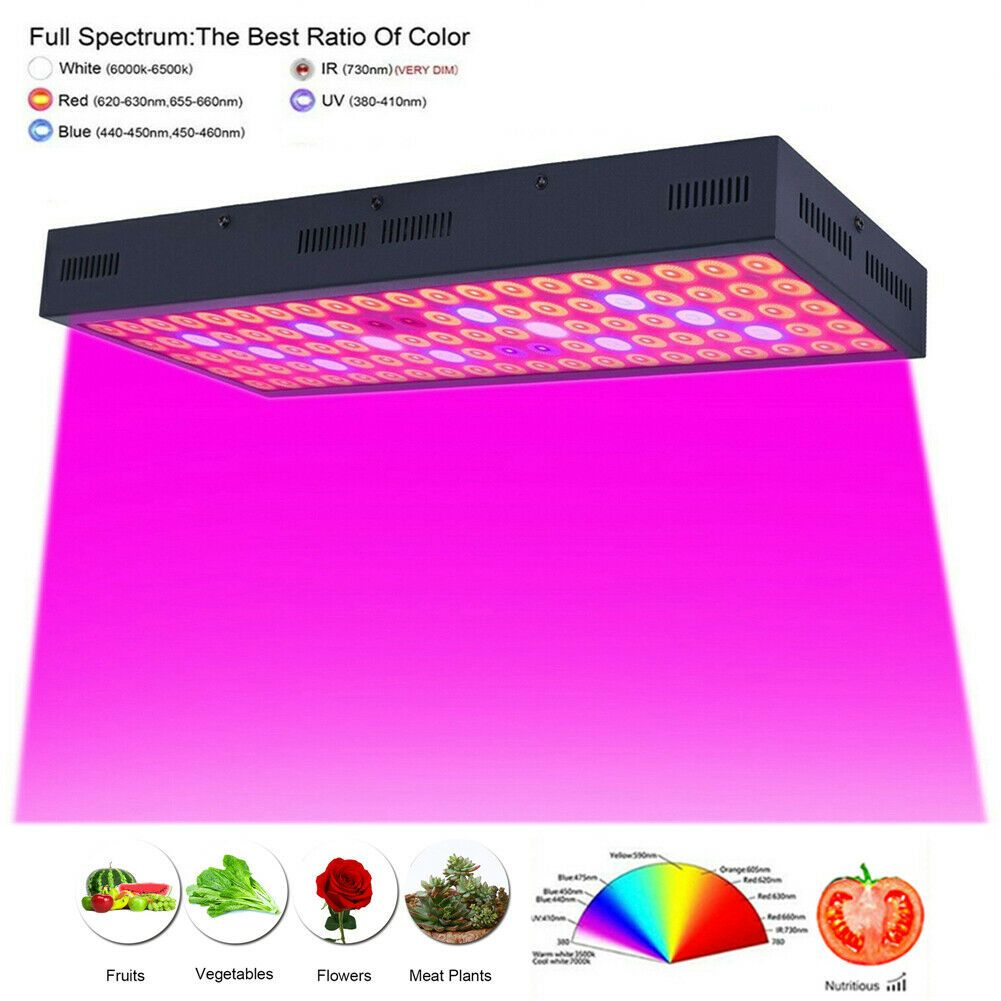 5000w Led Grow Light Strip Hydroponic Full Spectrum Veg Flower Plant Lamp Panel Hydroponics In 2020 Led Grow Lights Grow Lights Led Grow