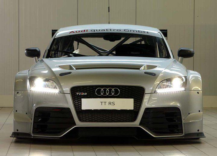 Audi Quattro TT RS race car.