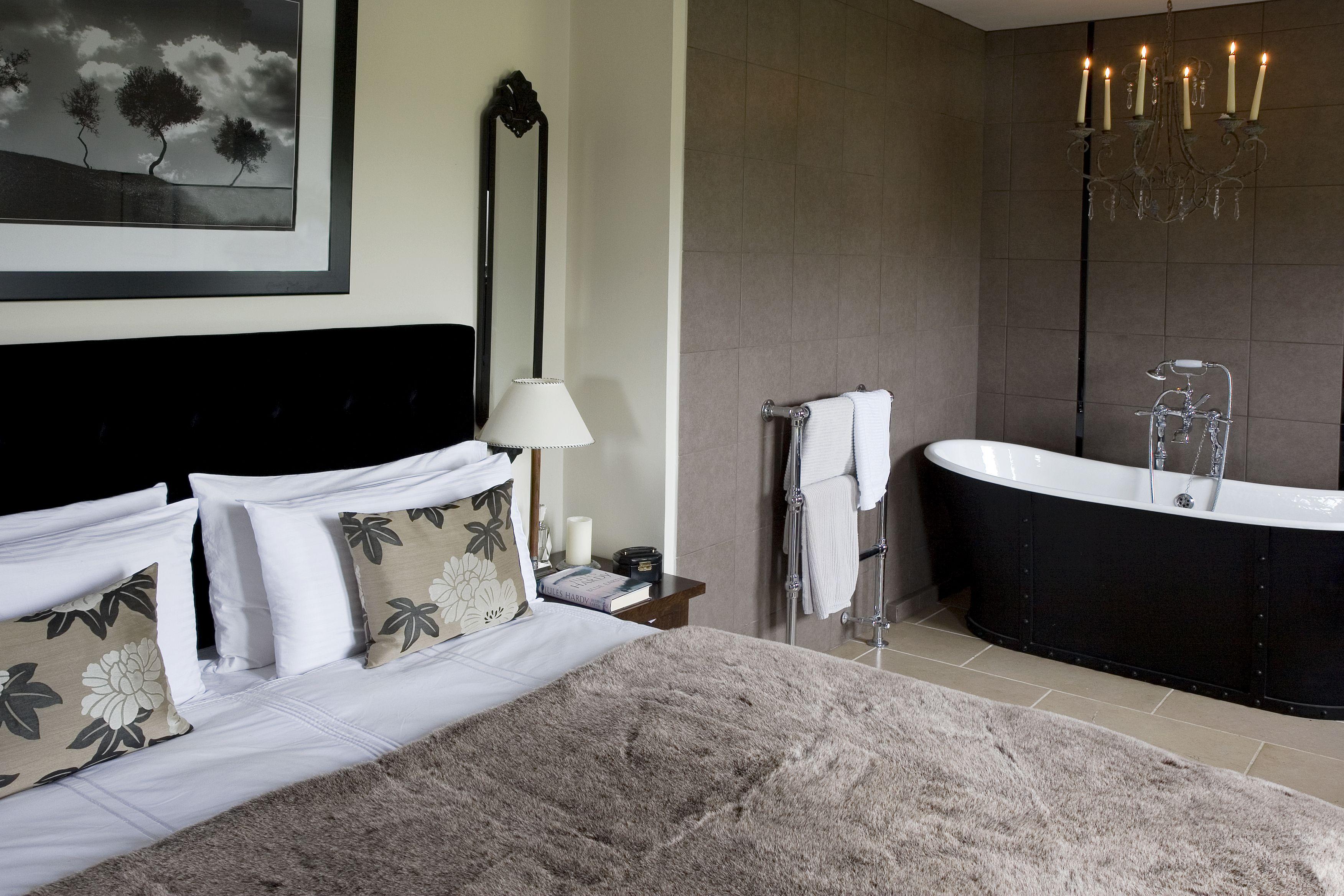 Bath In Bedroom .