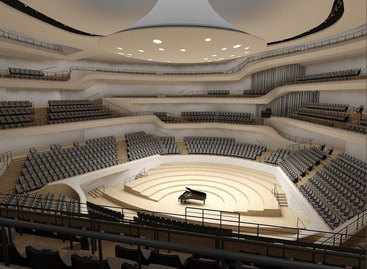 Sitzplatzvorschau Grosser Saal Elbphilharmonie Architecture Architecture Design Elbphilharmonie Concert Hall