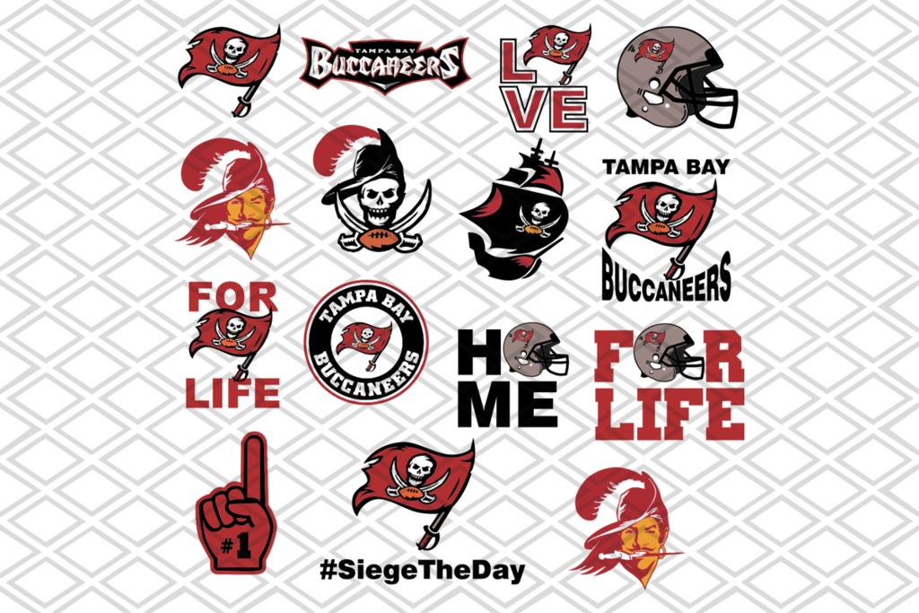 Tampa Bay Buccaneers Svg Bundle Nfl Team Svg Logo Svg Files For Cricut Svg Dxf Eps Png Instant Download In 2020 Football Team Logos Football Logo Buccaneers