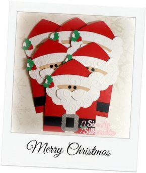 Simply Silhouette: Santa Gift CardHolders