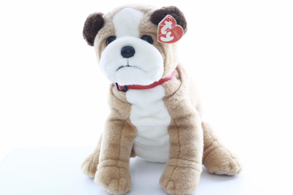 Ty Beanie Baby Bean Bag Plush Stuffed Animal Shredder The Pitbull