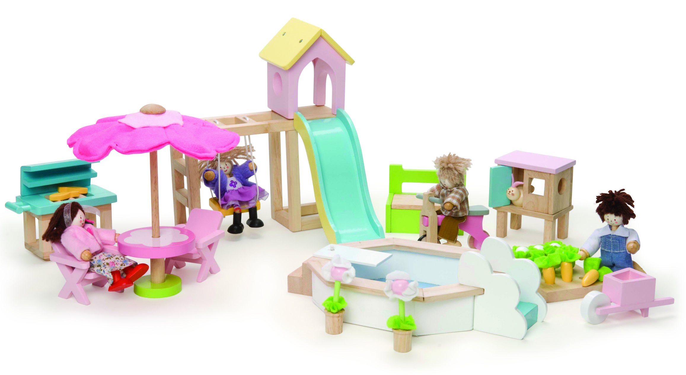 Le Toy Van Outdoor Garden Set #toys2learn #letoyvan#outdoor#garden#set#doll #dollhouse#toys#toy#children#child