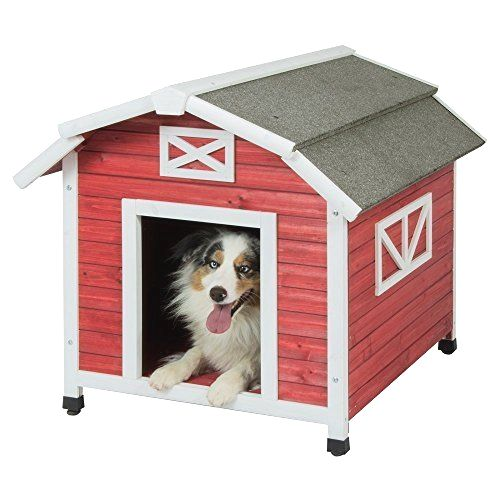 Old Red Barn Dog House For Dogs Deal Of The Day Http Amzn To