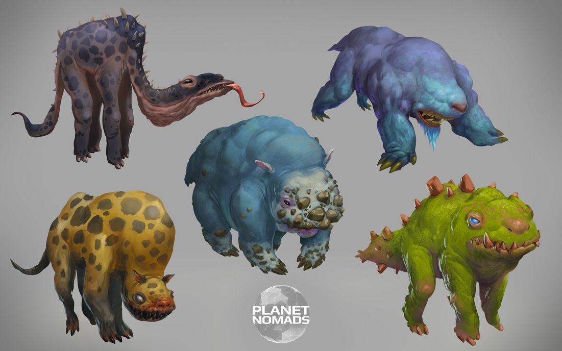 Alien animals concept image - Planet Nomads - Mod DB