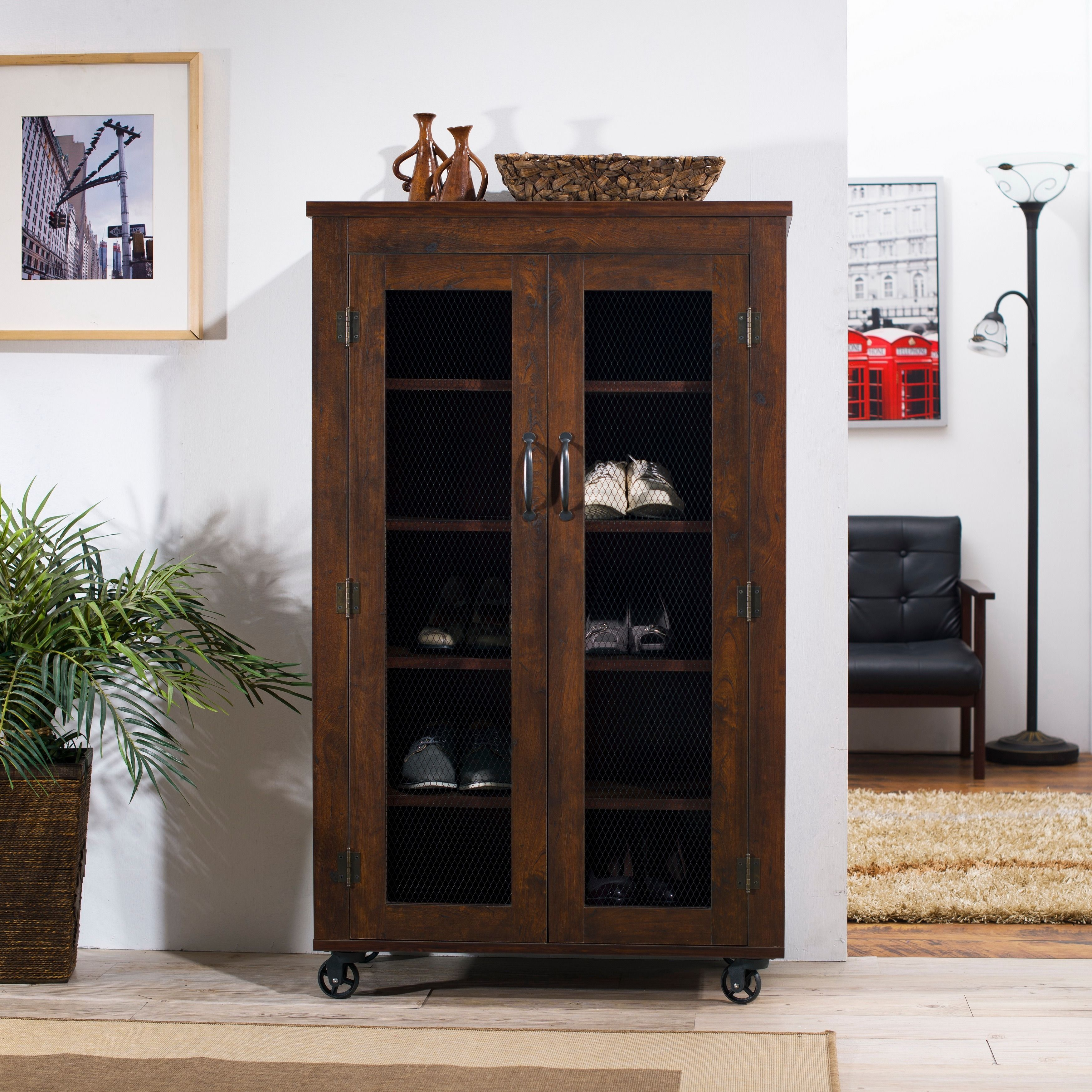 Mobile Display Cabinet Walnut Finish Display Cabinets And Mobiles On Pinterest
