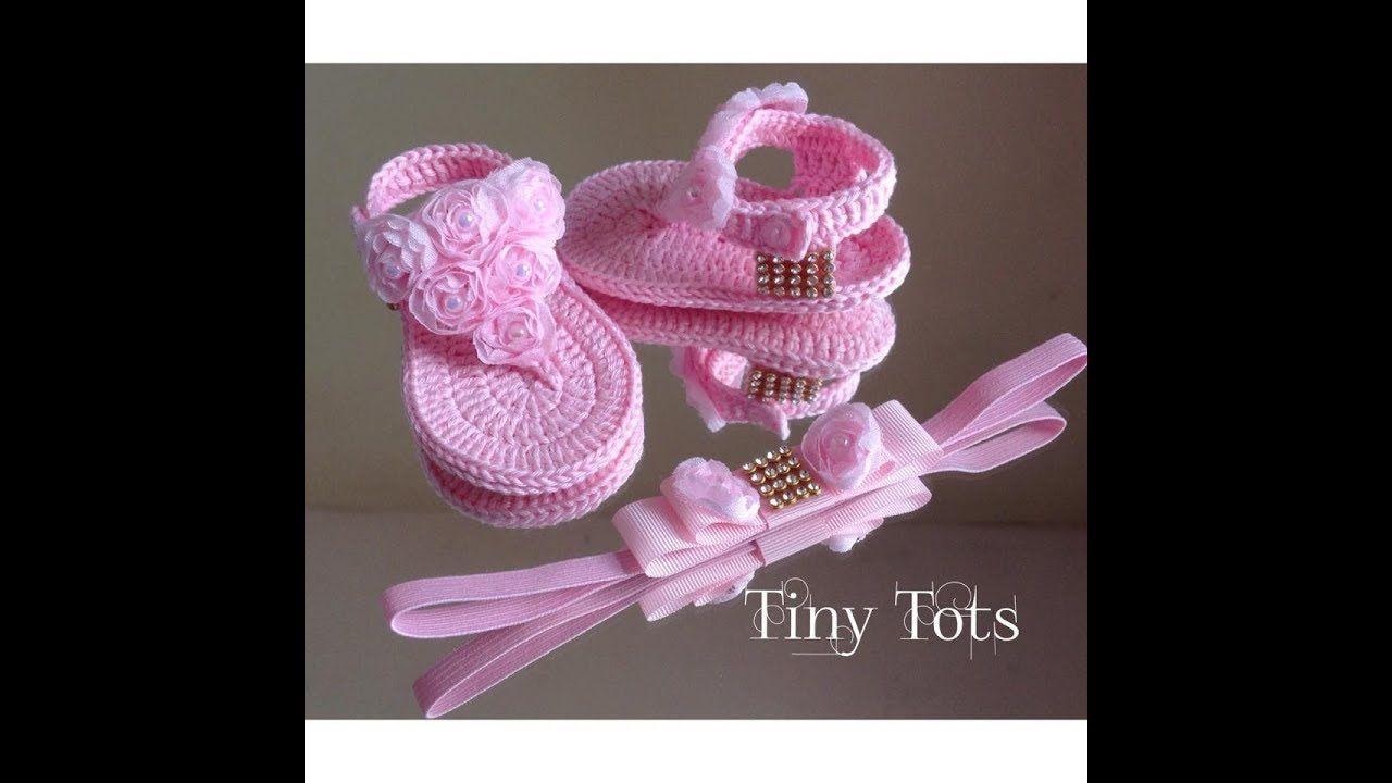 Passo a passo da rasteirinha para bebês | Sapatinhos | Pinterest ...