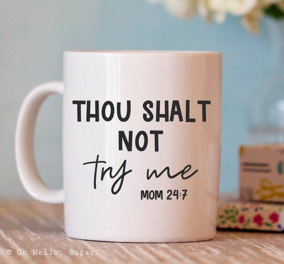 Lustige Kaffeetasse - lustige Geschenke für Mama - lustige Tasse - Keramiktasse - Kaffeetasse... #ceramicmugs