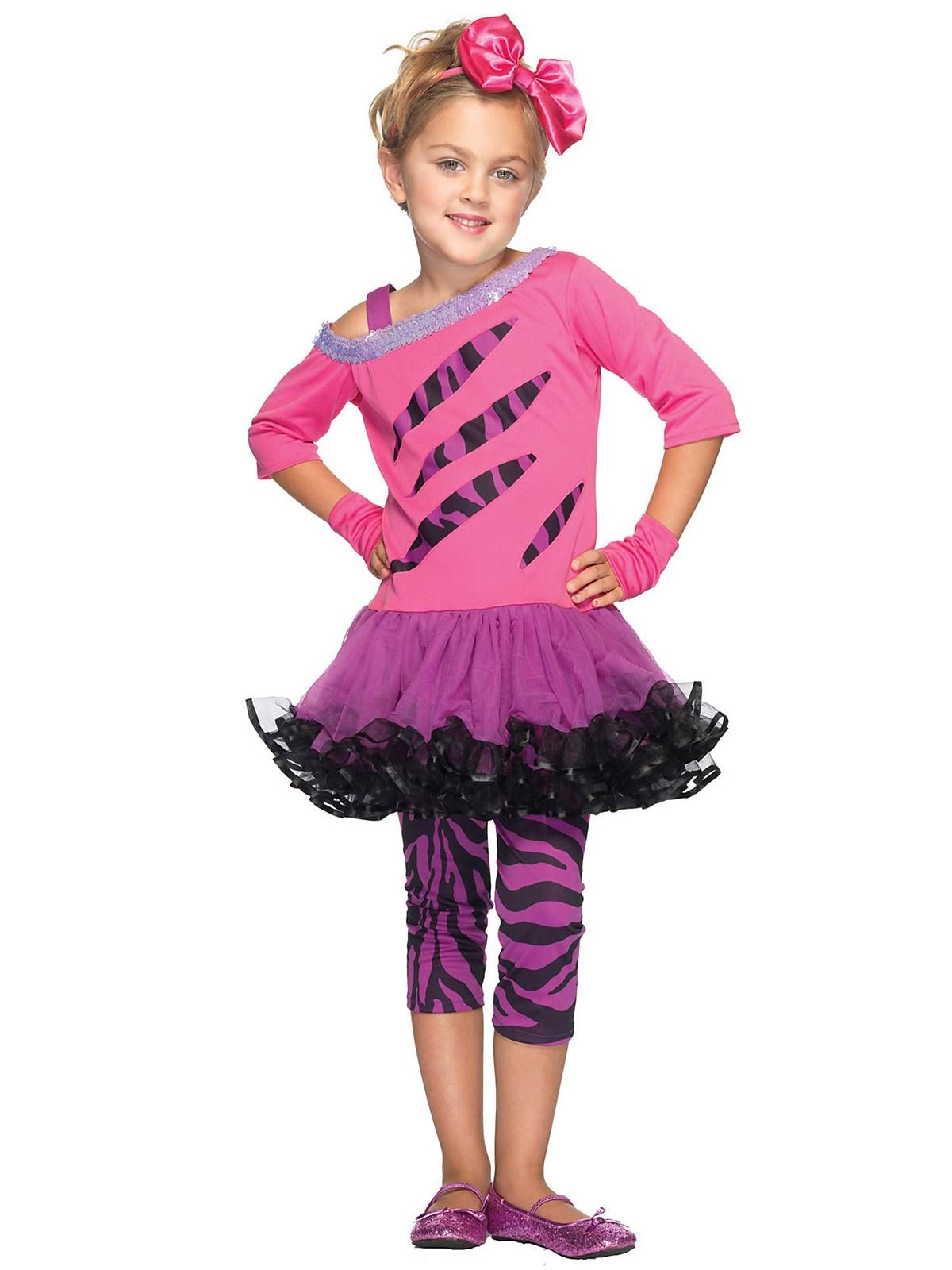 Girls Rockstar Child Costume Costumes | Girls Clearance Costumes ...