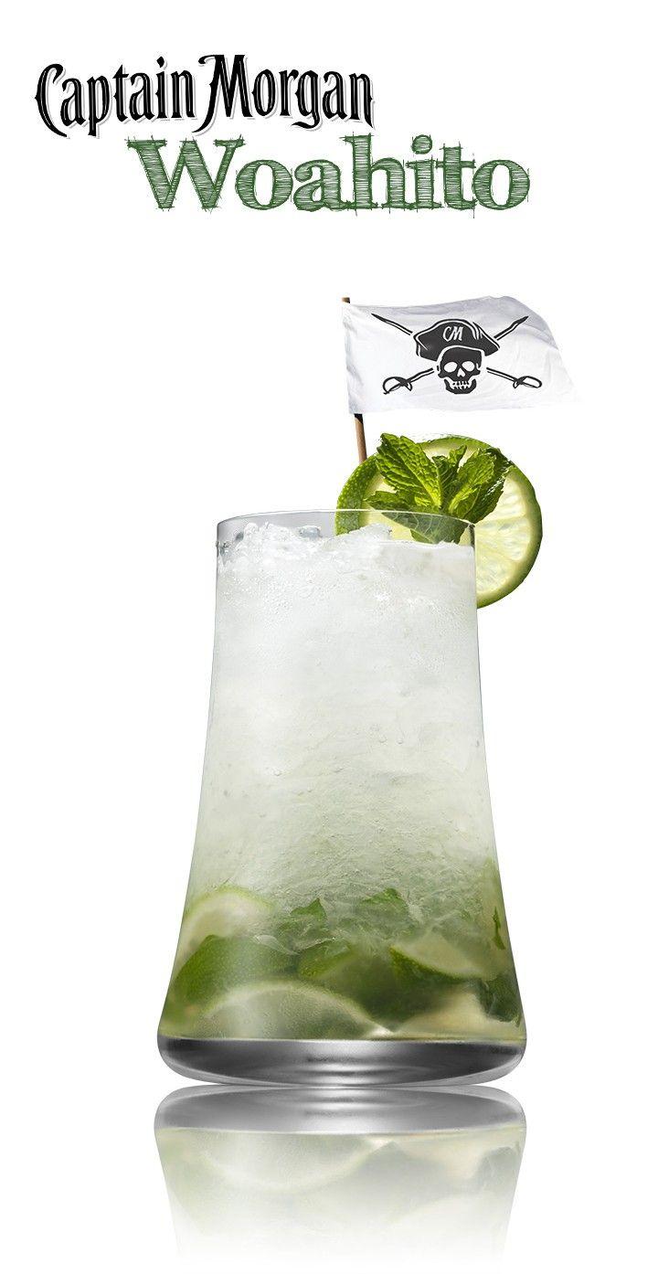 Rum Cocktails Drink Recipes Captain Morgan Cocktail Drinks Alcoholic Drinks Cocktail Drinks Recipes