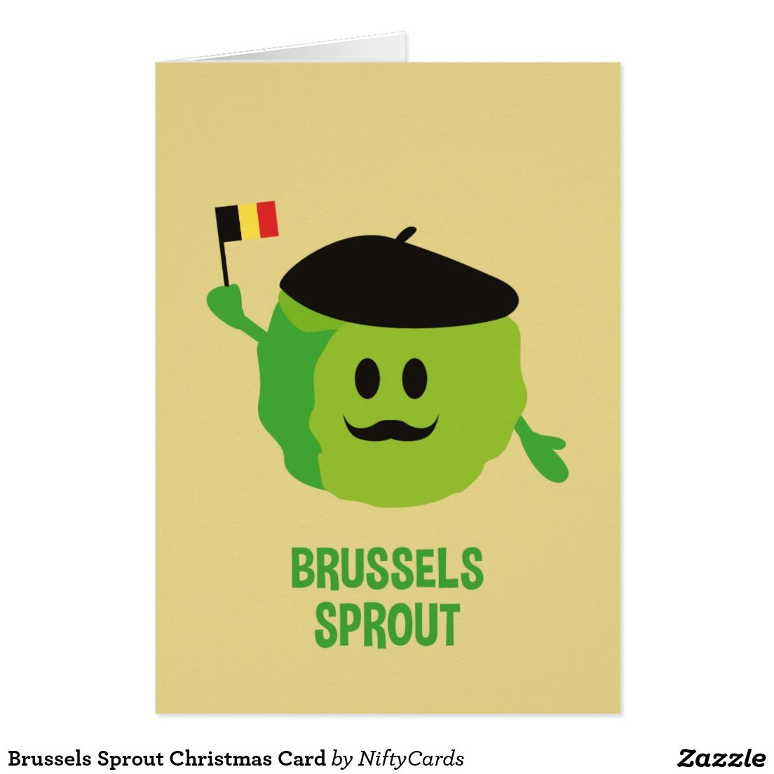 Brussels Sprout Christmas Card Brussels Sprouts Brussels And Sprouts
