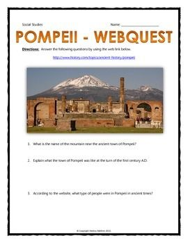 """social class in pompeii Later in the lesson, students work individually to write a creative yet factual  historical essay on """"uncovering pompeii"""" the lesson concludes with a class."""
