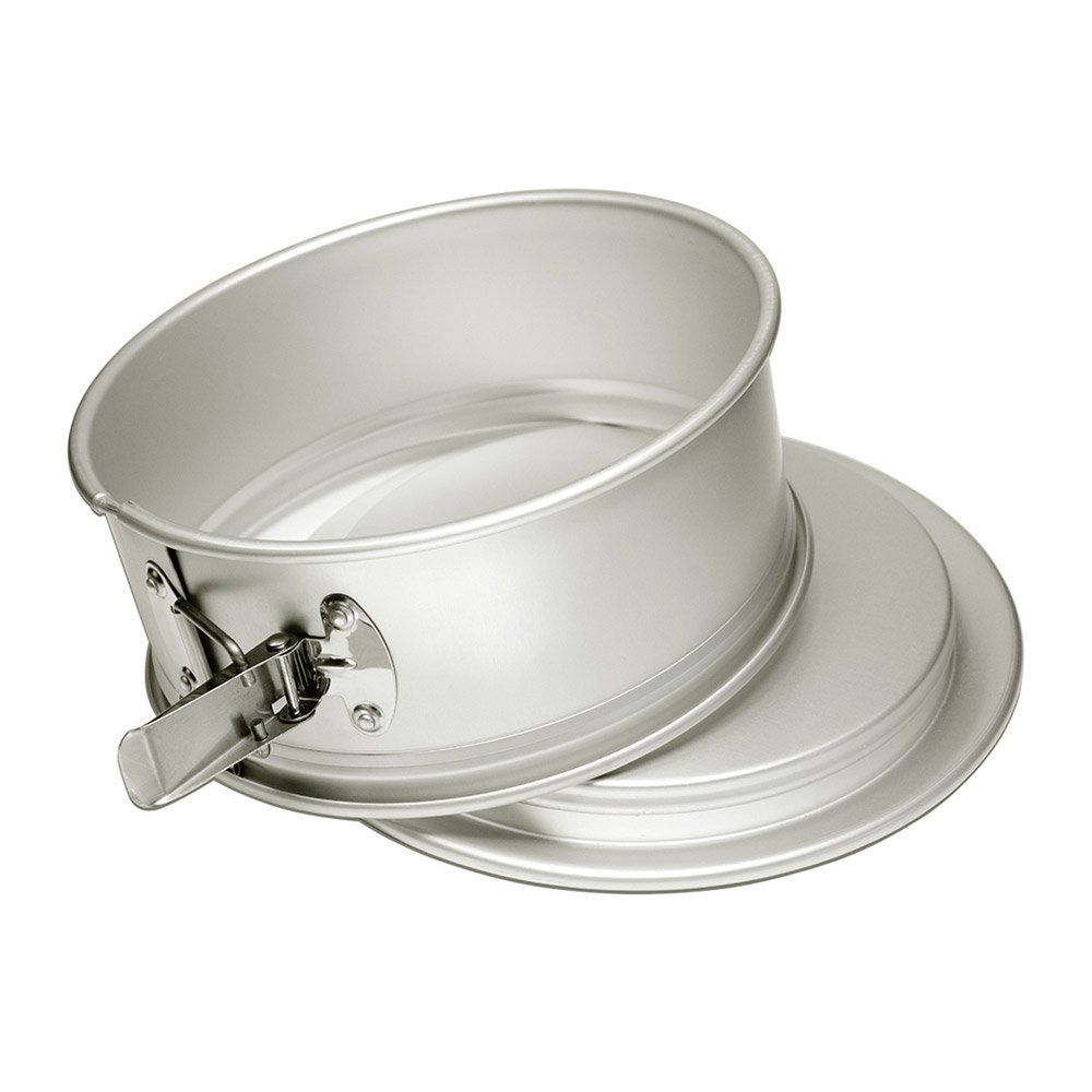 6 Inches by 4 Inches 6 x 4 Inch Fat Daddio/'s Anodized Aluminum Round Cake Pan