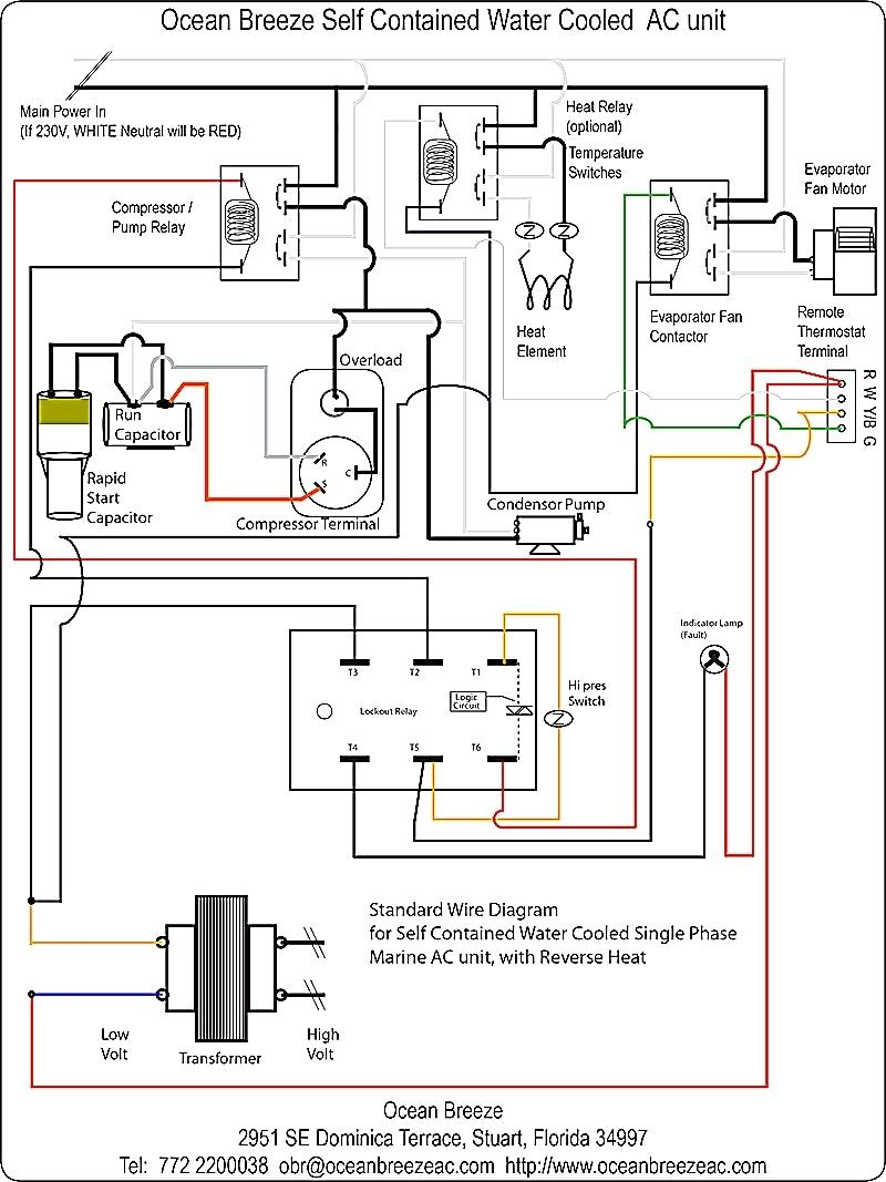 50 luxury air handler fan relay wiring diagram in 2020 | ac wiring,  thermostat wiring, air heating system  pinterest