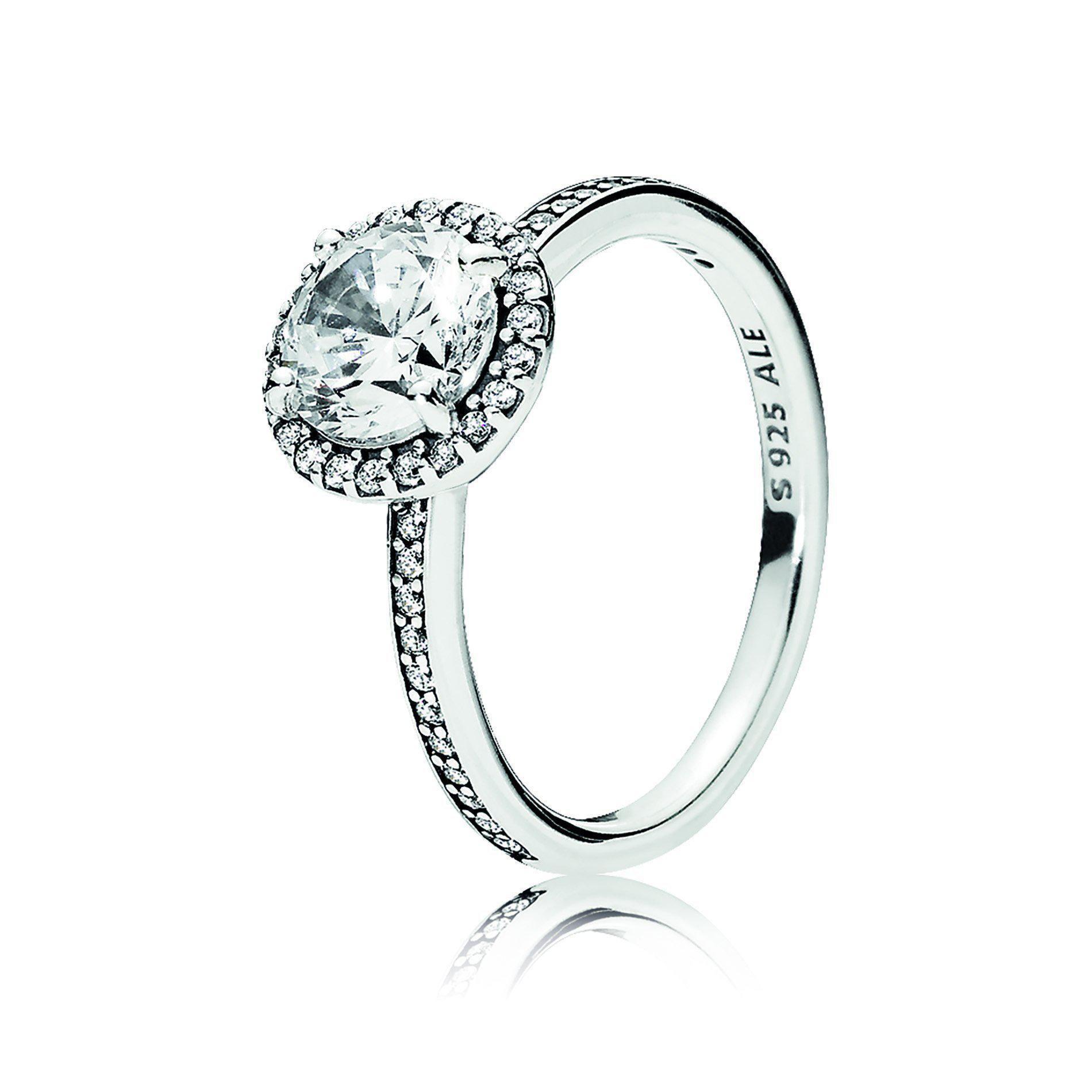 196250CZ Classic Elegance Ring | Classic ring, Pandora rings ...