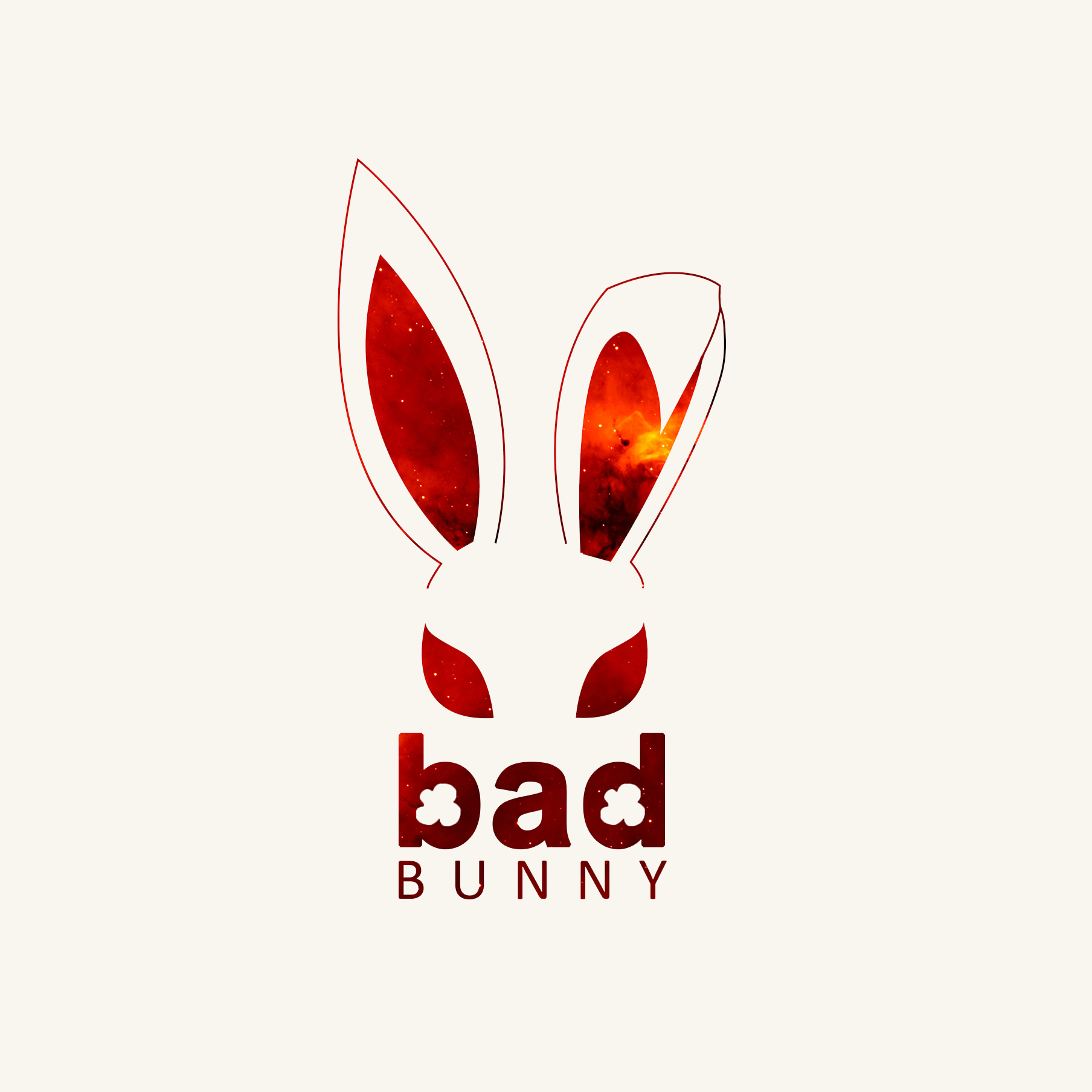 Bad design logo bad bunny logo