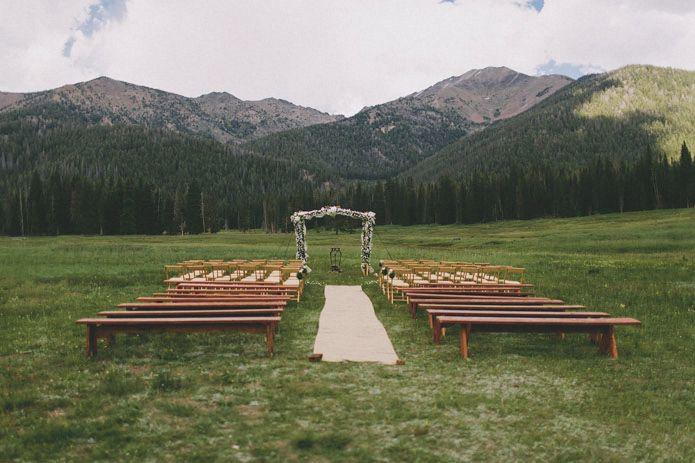 Andrea + Ryan's Galena Lodge Wedding in Sun Valley