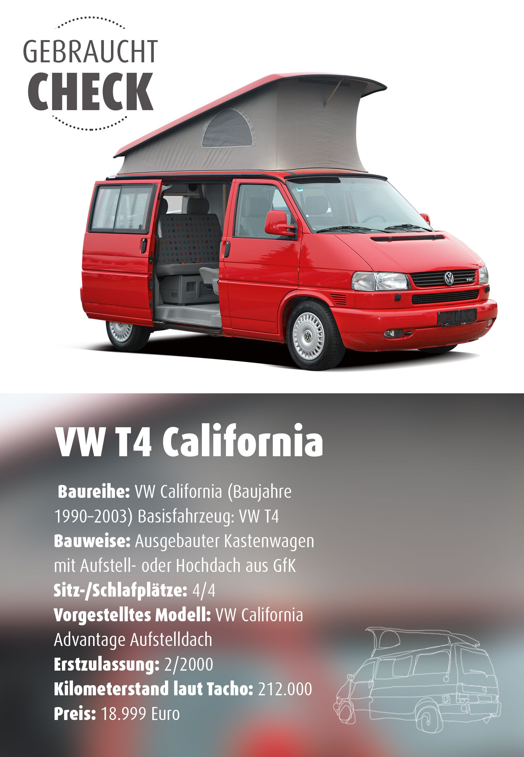 vw t4 california im gebrauchtcheck was taugt der vw t4. Black Bedroom Furniture Sets. Home Design Ideas