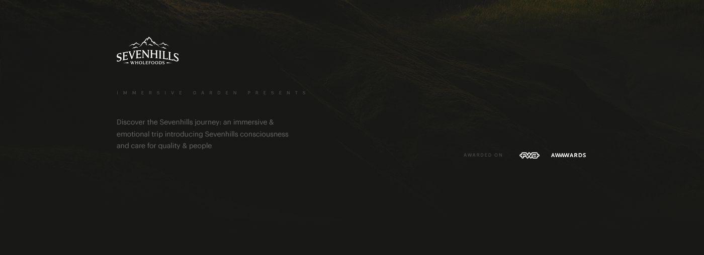 Sevenhills - Experience Website on Behance