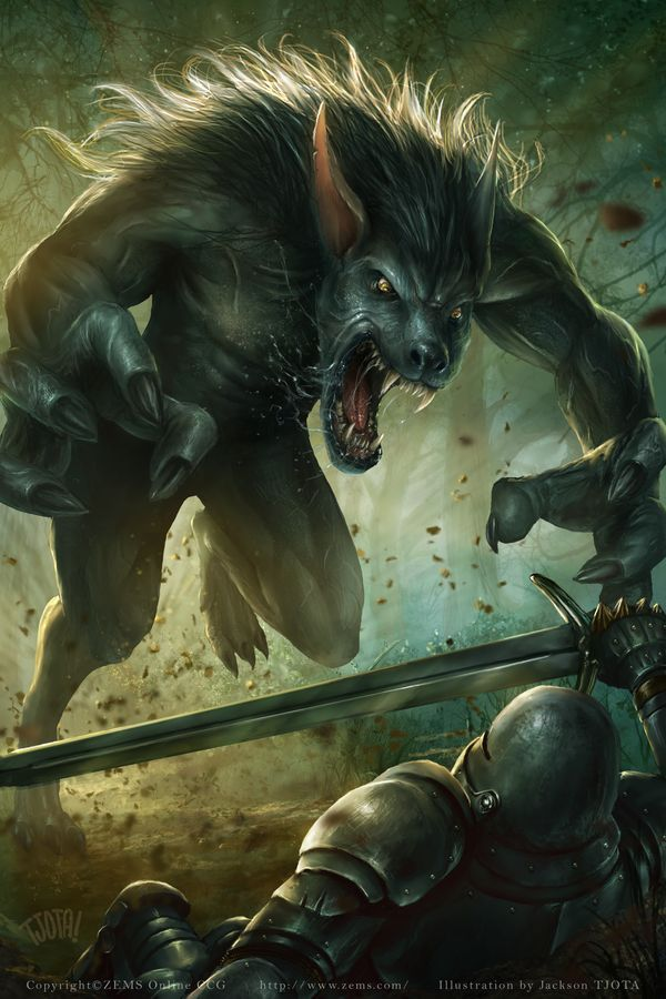 Real Wolf Dire