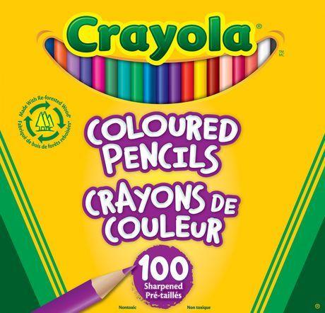 Crayola Coloured Pencils Multi Coloured Colored Pencil Set