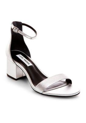 a16ed7bda97 Steve Madden Women s Irenee Sandals - Silver - 6.5M
