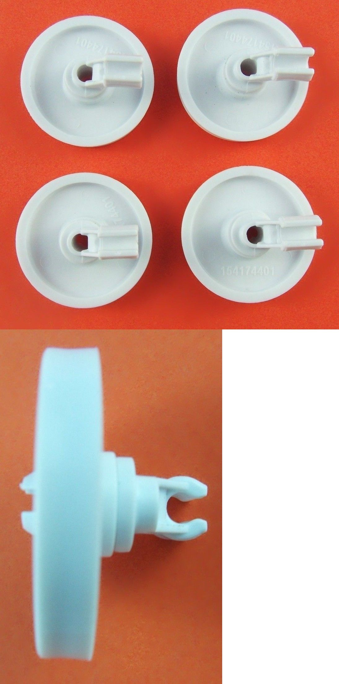 Details About Frigidaire Dishwasher Lower Wheel Part 154174401
