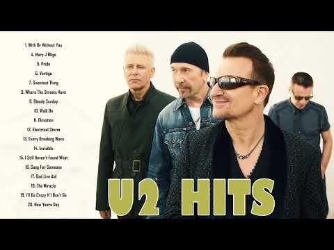 U2 Greatest Hits - Best Songs of U2 - Top 20 Best Rock songs of U2
