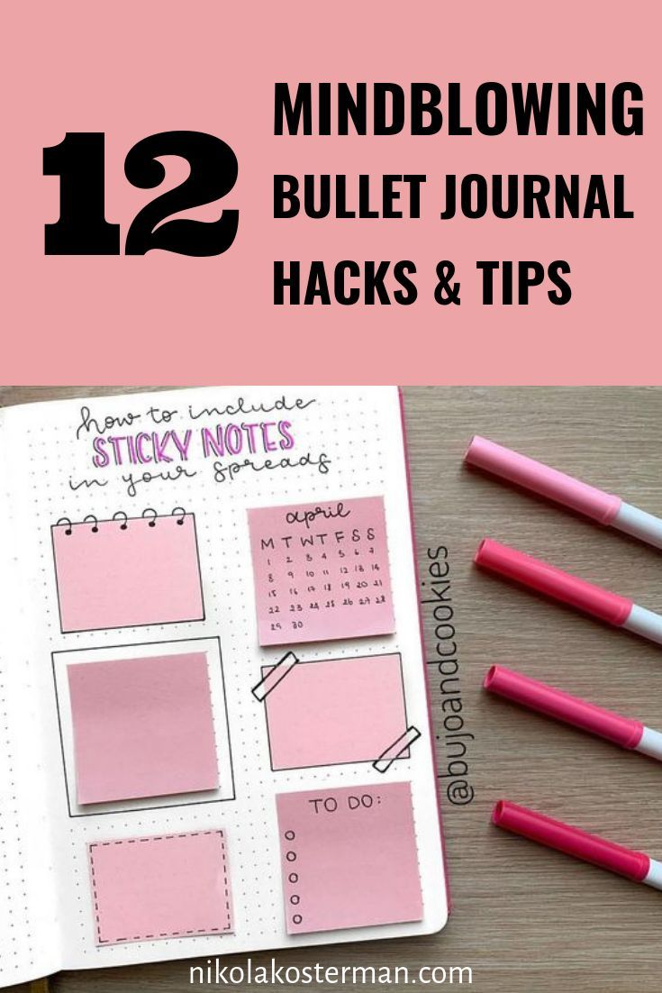 12 Bullet Journal Hacks That Actually Work - Bullet Planner Ideas