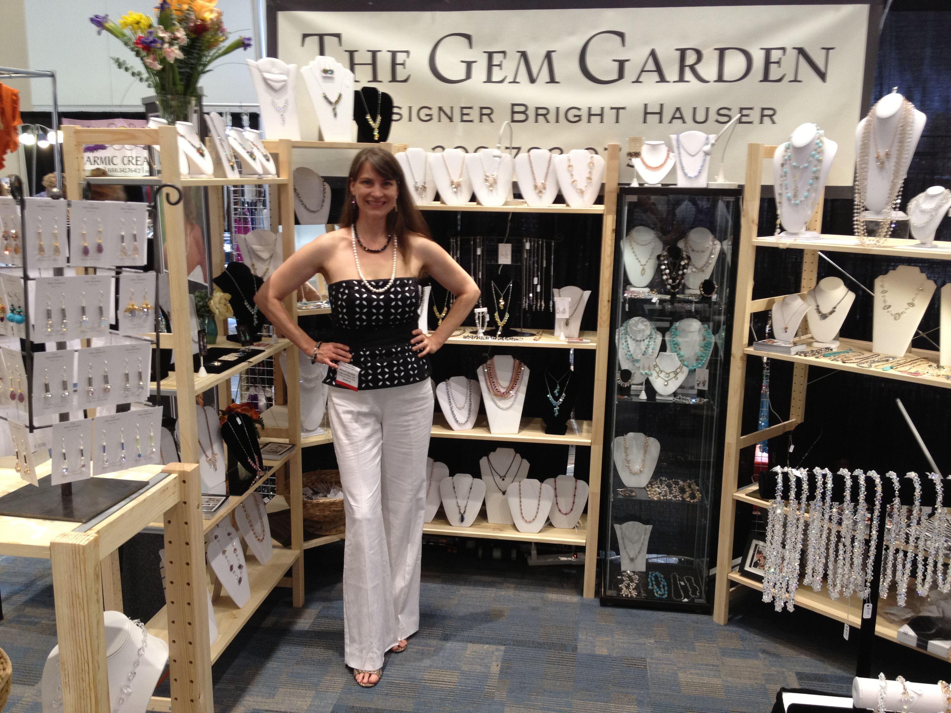 The Gem Garden designer Bright Hauser.  San Francisco,Gift and Accessories show.