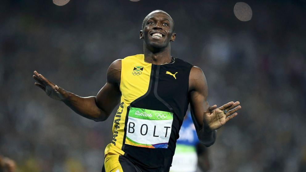 Usain Bolt wins the men's 100m final, Wayde van Niekerk ...