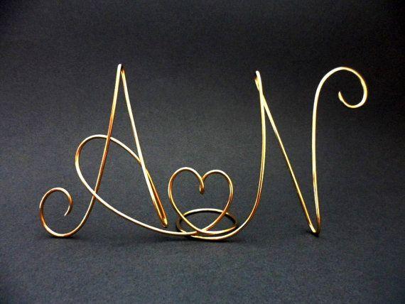 wedding cake topper silver cake topper gold cake topper monogram mr and mrs two lovers. Black Bedroom Furniture Sets. Home Design Ideas