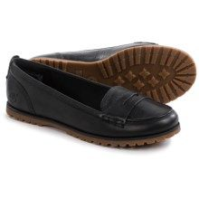 Timberland Joslin Penny Loafers - Leather (For Women) in Black - Closeouts