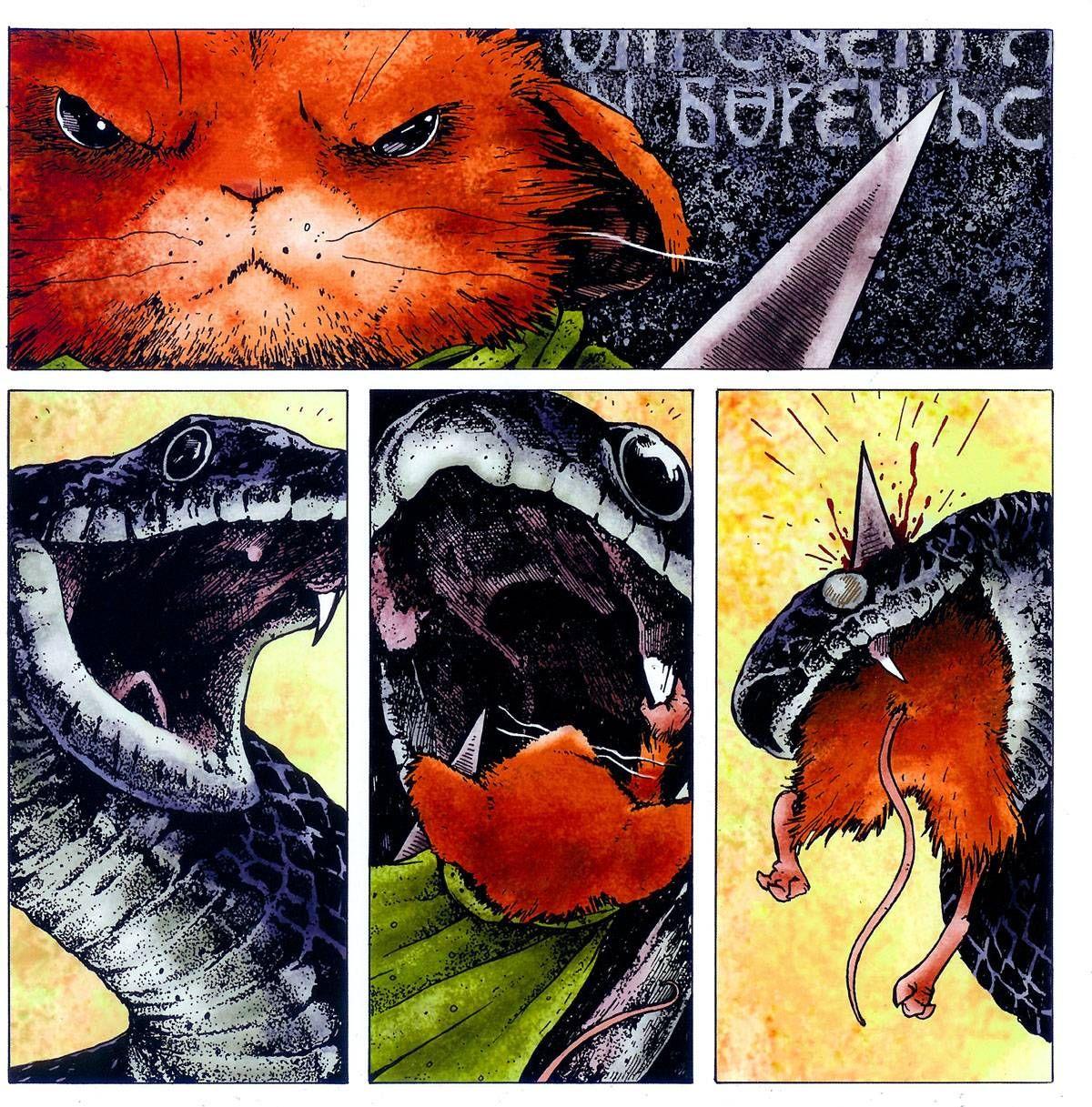 Мышиная Гвардия: Осень 1152 №1 онлайн   Комиксы, Осень и ...