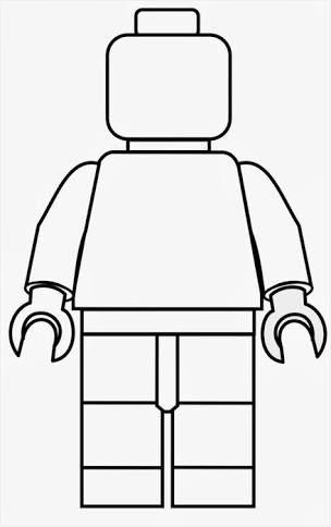 Afbeeldingsresultaat Voor Paper Lego Man Template